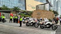 Raja Salman Bersiap ke DPR, Dikawal 15 Motor Patwal
