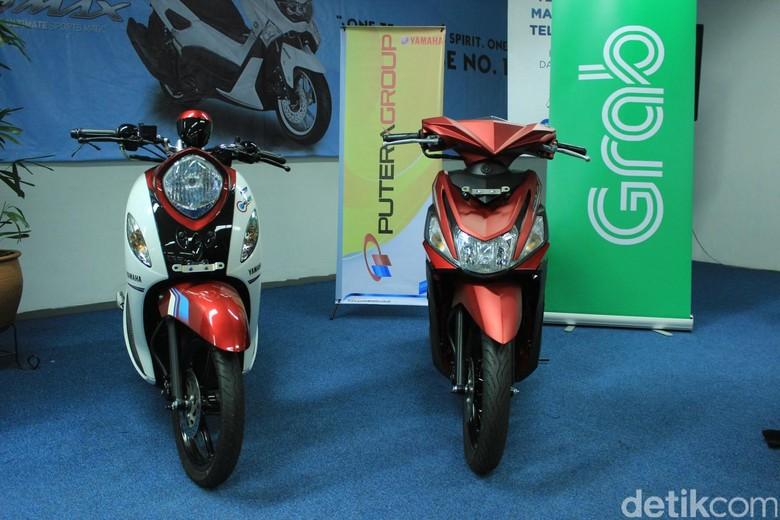 Gandeng Grab, Yamaha Ingin Jual 250 Motor Per Bulan