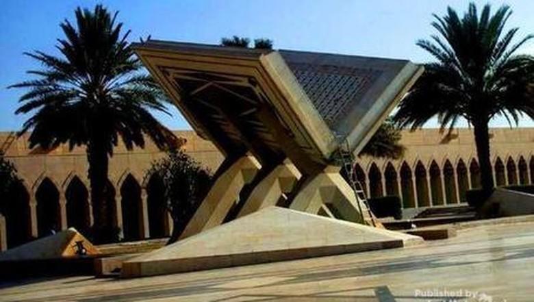 Foto: Percetakan Al Quran di Madinah (Merza Gamal/dTraveler)