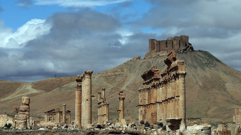 Pasukan Suriah Kembali Memasuki Palmyra yang Dikuasai ISIS