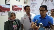 Sandiaga: Laporan Dana Kampanye Kita WTP dari Akuntan Publik