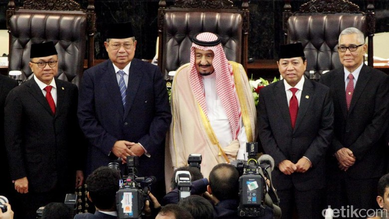JK akan Santap Malam dengan Raja Salman Besok Malam