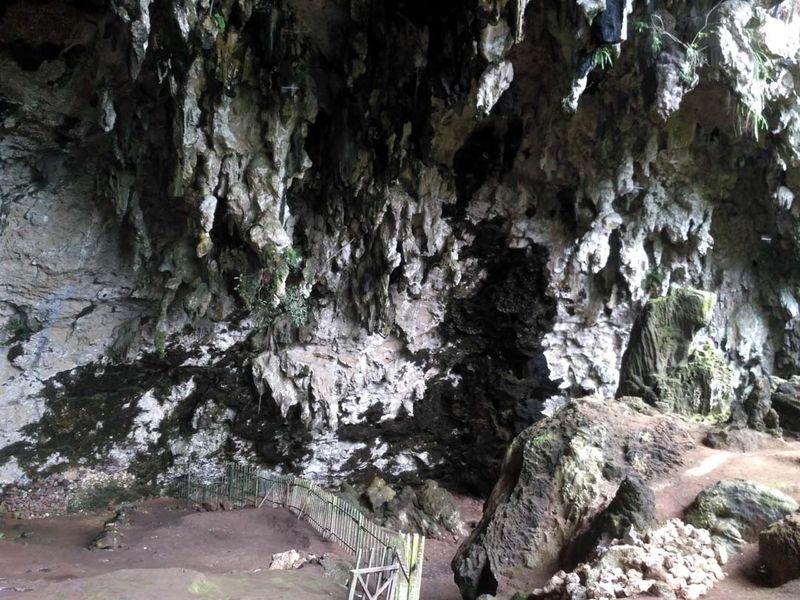 Foto: Gunungkidul sejak ratusan ribu tahun lalu sudah menjadi tempat hunian manusia purba. Hal itu ditandai dengan Ada banyak jejak arkeologis dan artefak yang ditemukan di wilayah itu. Salah satunya di Gua Braholo terletak, Dusun Semugih, Kecamatan Rongkop (Bagus/detikTravel)