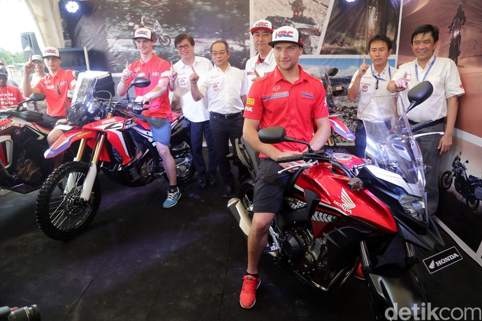 Honda Rilis Tampang Anyar CB500X