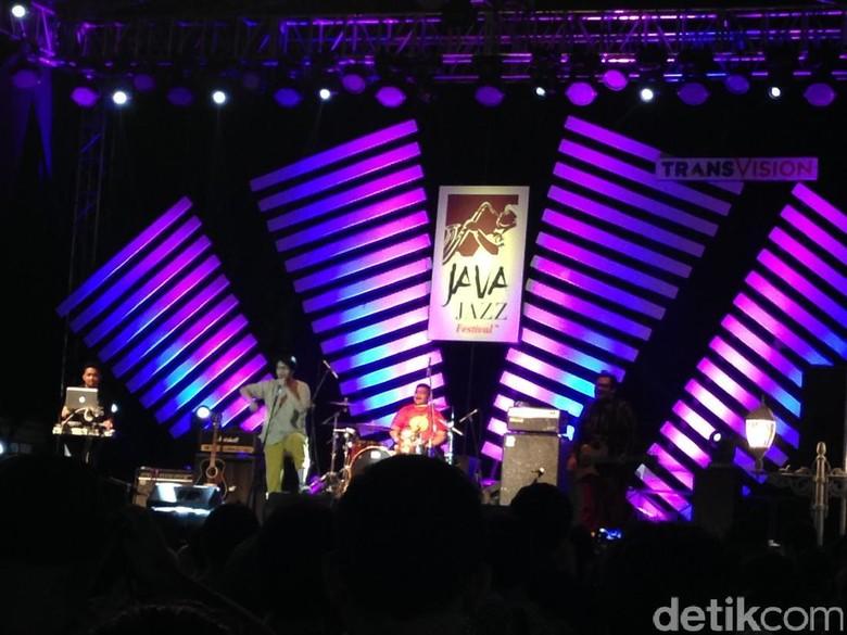 Armand Maulana yang Kekinian di BNI Java Jazz 2017