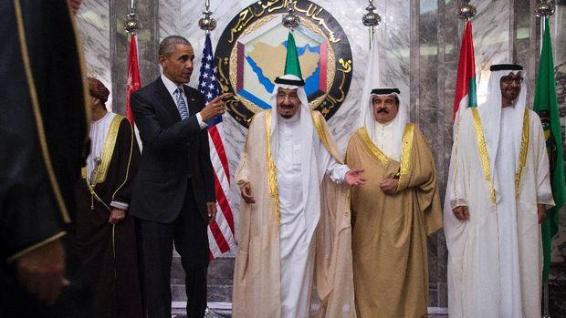 Obama dan Raja Abdullah