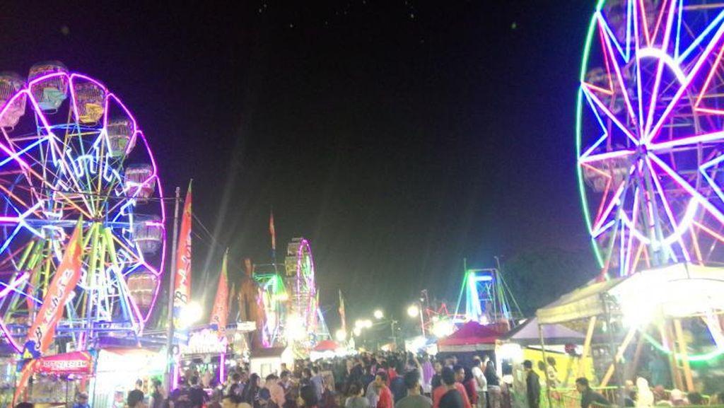 Pasar Malam Sekaten yang Bikin Kangen di Yogya