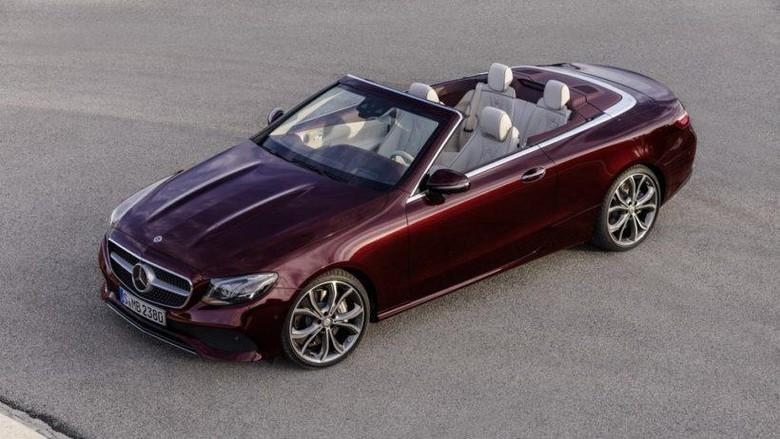 Mercedes-Benz Siap Luncurkan E-Class Cabriolet, Ini Tampangnya