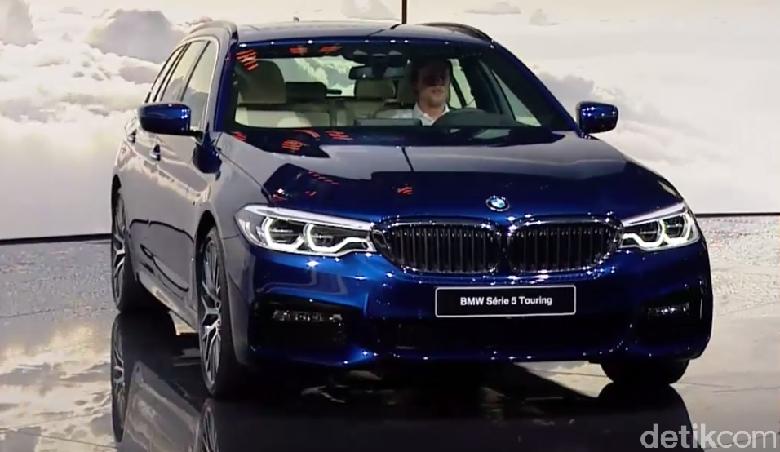 BMW Bakal Boyong Seri 5 Touring Pertama Kalinya ke Indonesia