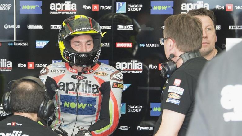 Aleix Espargaro Pernah Menangis Saking Frustrasinya di Suzuki