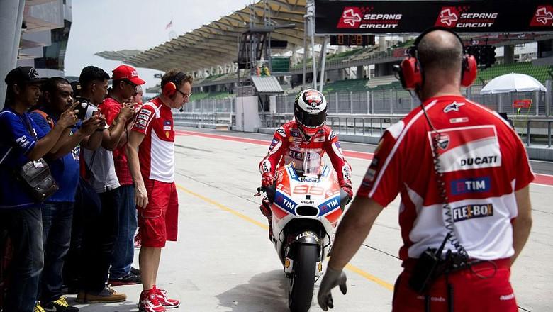 Ducati Sadari Besarnya Tantangan Lorenzo