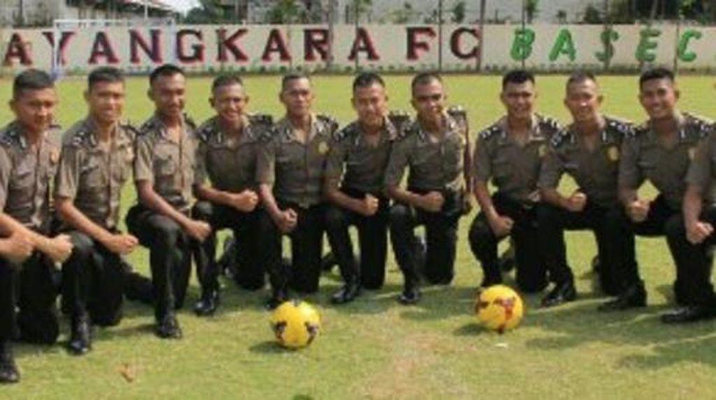 16 Pemain Bhayangkara FC Resmi Jadi Anggota Brigadir Polri