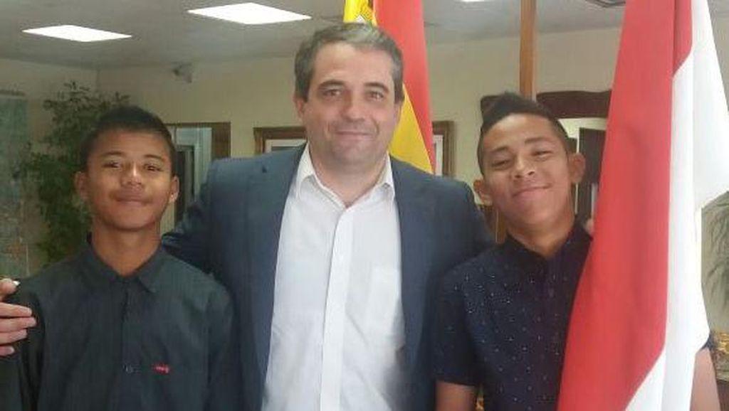 Syukran dan Andrian Mulai Jalani Latihan di Klub Spanyol