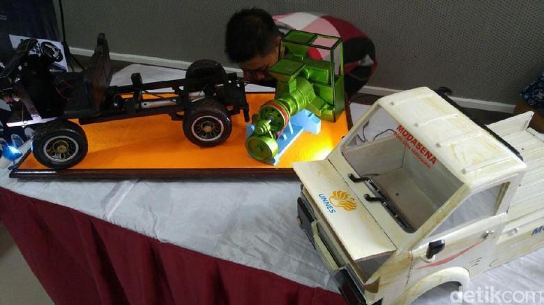 Mesin dan Transmisi Mobil Pedesaan Pakai Produksi dalam Negeri
