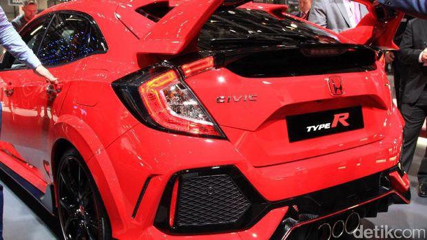 Hot Hatch Honda Civic Type R Tampil Menggoda