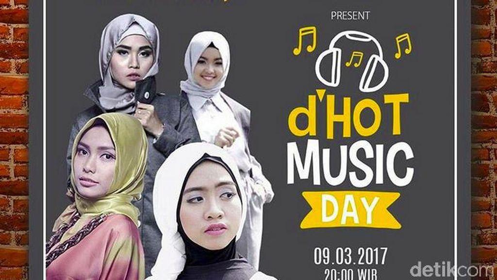 4 Alumni Sunsilk Hijab Hunt Ramaikan Hari Musik Nasional Bersama 23 Musisi