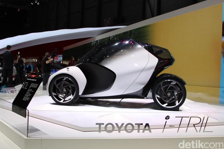 Toyota i-Tril Manjakan Konsumen Wanita