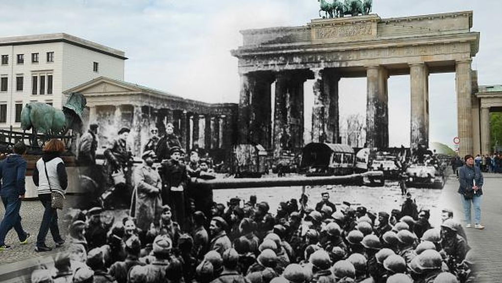 Kengerian Hantu Perang Dunia di Kota Modern Eropa