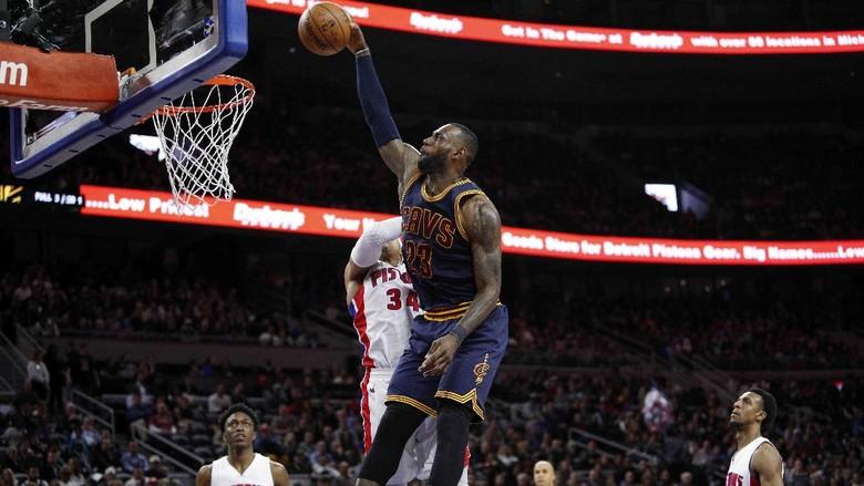 Pistons Beri Cavaliers Kekalahan Ketiga Beruntun