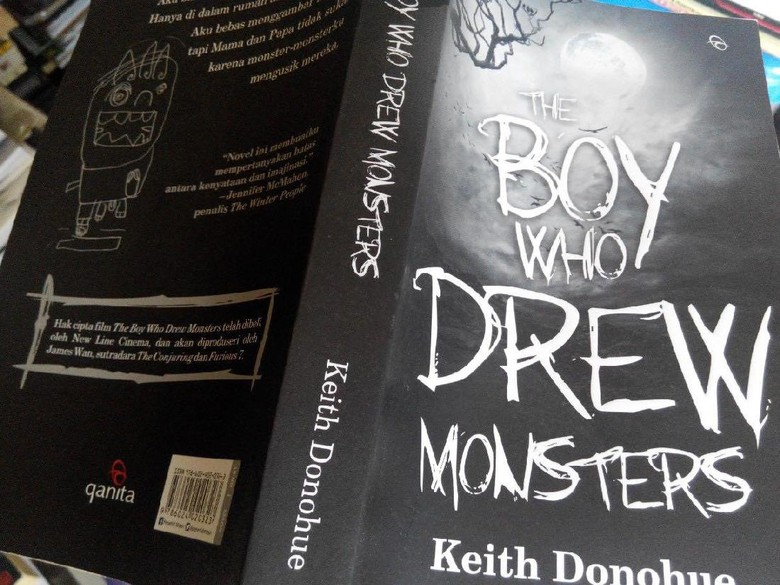 The Boy Who Drew Monsters: Kisah Horor yang Lembut dan Puitis