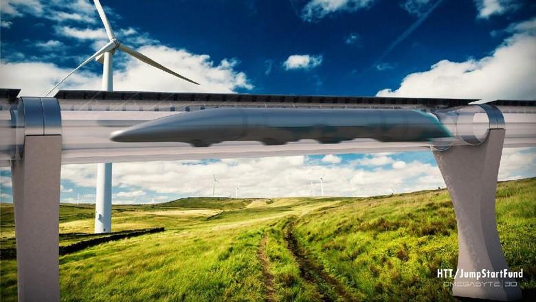 Rencana Besar China Bikin Hyperloop yang Melesat 4.000 Km/Jam