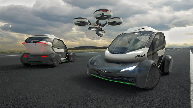 Wujud Konsep Kendaraan Masa Depan, Mobil Bisa Terbang