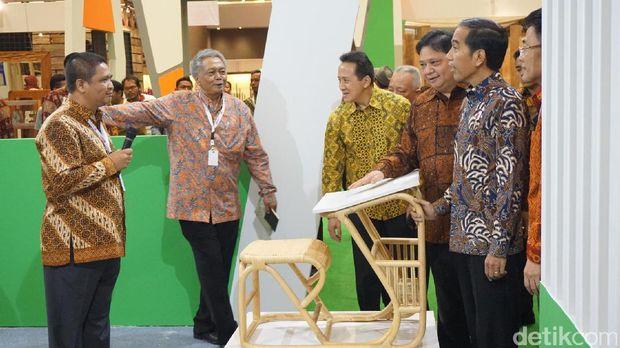 3 Poin Penting Industri Mebel dan Kerajinan Menurut Jokowi