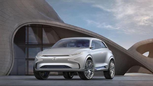 Hyundai Pamer Ketangguhan FE Fuel Cell Concept