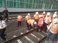 Penampakan Stasiun Terakhir Proyek Kereta Bandara Soekarno-Hatta