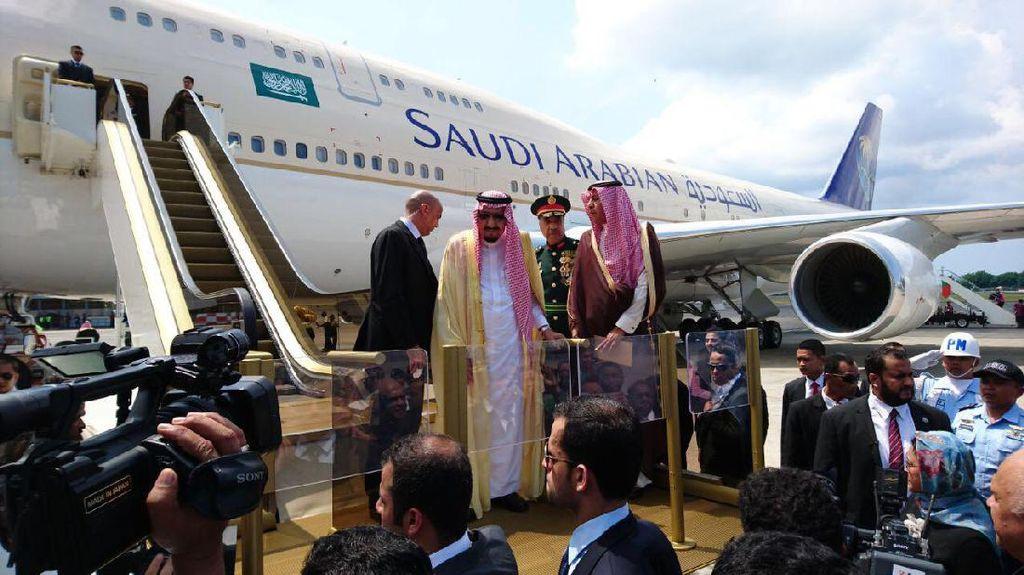 Menag: Selamat Jalan Raja Salman, Semoga Selamat Sampai Tujuan