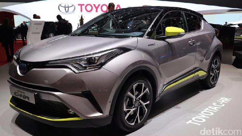 Toyota Siapkan C-HR Awal Tahun 2018