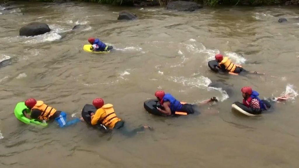 Wisata Baru di Garut yang Mesti Kamu Coba: River Boarding