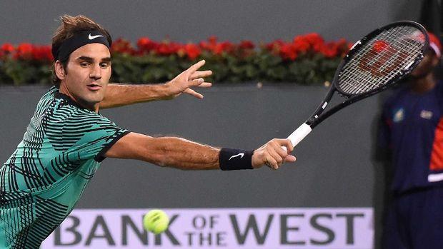 Djokovic dan Federer Menang <i>Straight Set</i>