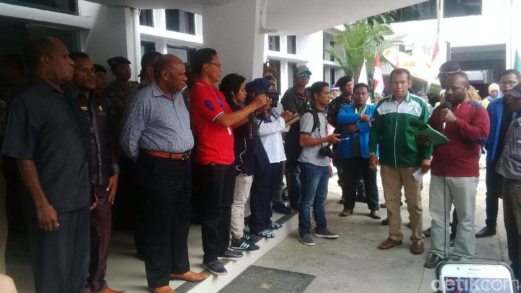 Sampaikan 9 Tuntutan, Warga Papua Minta Freeport Patuhi Pemerintah