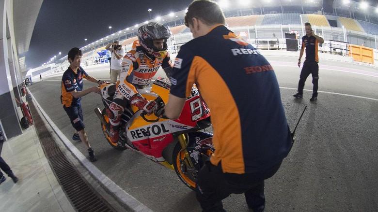 Crash Tiga Kali, Marquez Tetap Optimistis