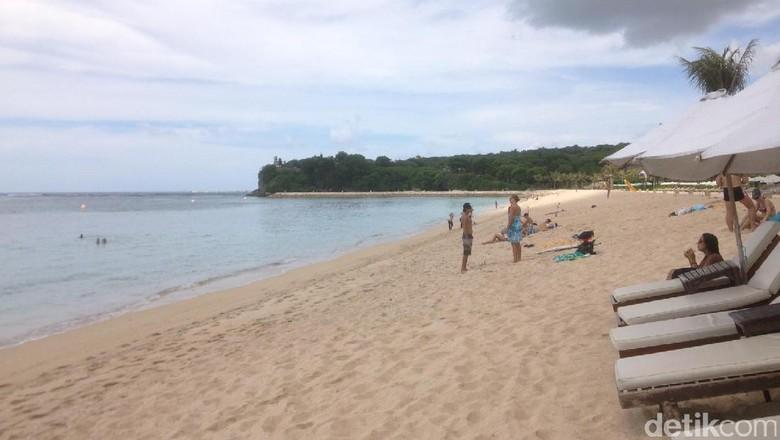 Foto: Pantai Geger di Nusa Dua, Bali (Afif/detikTravel)