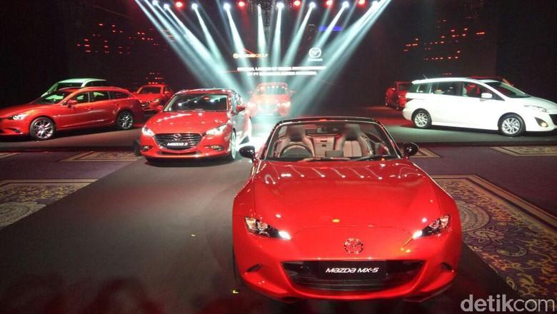 Mazda: 5 Mobil Baru Diluncurkan Bertahap