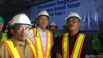 Sumarsono: Proyek MRT Tak Ada Masalah, Tinggal Proses Finishing