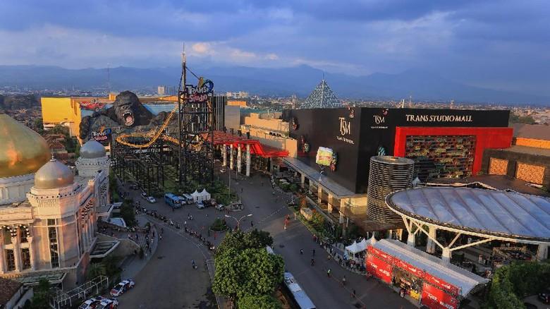 Foto: Kawasan Terpadu Trans Studio Bandung (dok Trans Studio Bandung)