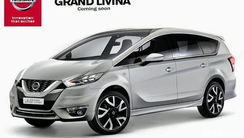 Nissan: Itu Bukan Foto Livina Model Anyar