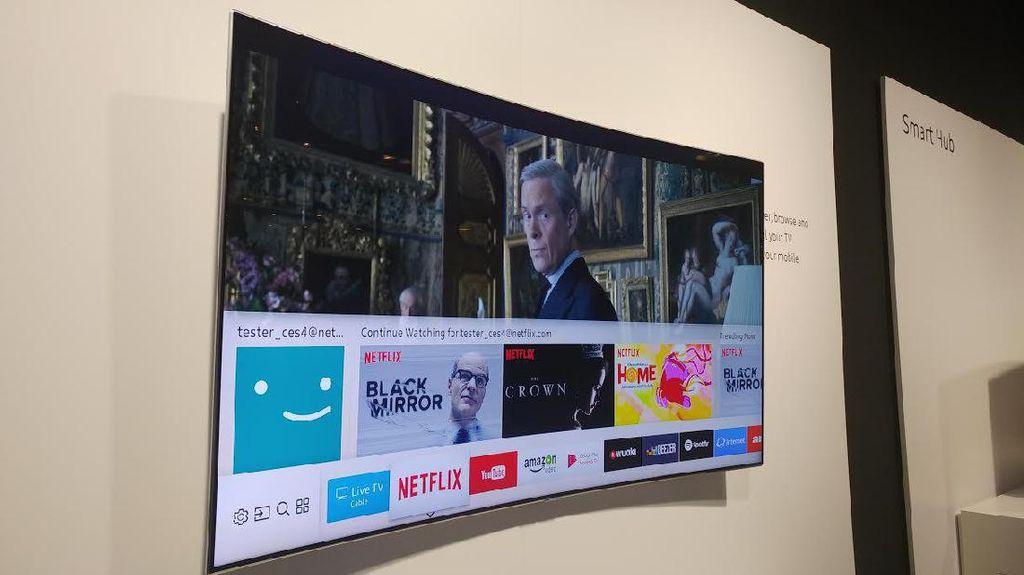 Televisi Canggih Samsung QLED TV dan The Frame Diluncurkan
