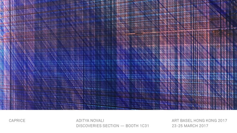 Aditya Novali Pajang Karya di Art Basel Hong Kong 2017