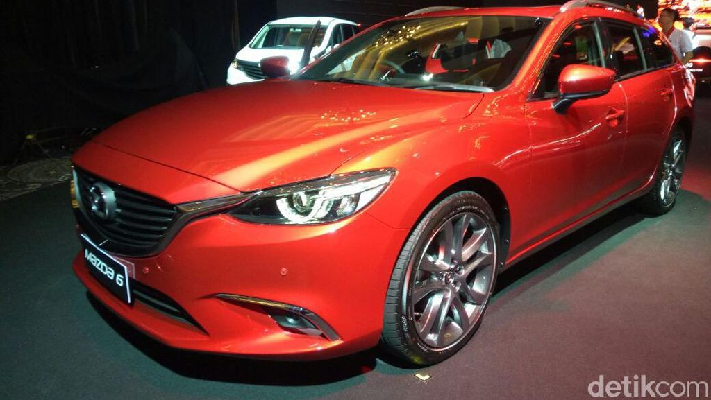 Mazda6 Estate  Dibanderol Lebih Murah Dari Versi Sedannya