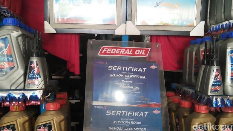 Federal Oil Tak Gentar dengan Kehadiran Motor Listrik