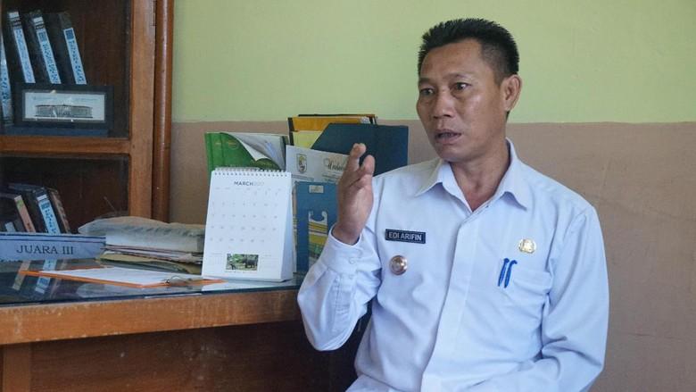 Cara Lurah Pelalawan Riau Cegah Kebakaran Lahan di Wilayahnya