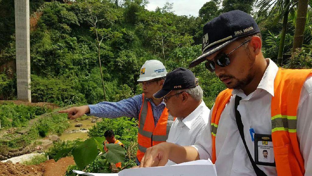 Menteri PU Yakin Jembatan Cisomang Selesai Diperbaiki 31 Maret