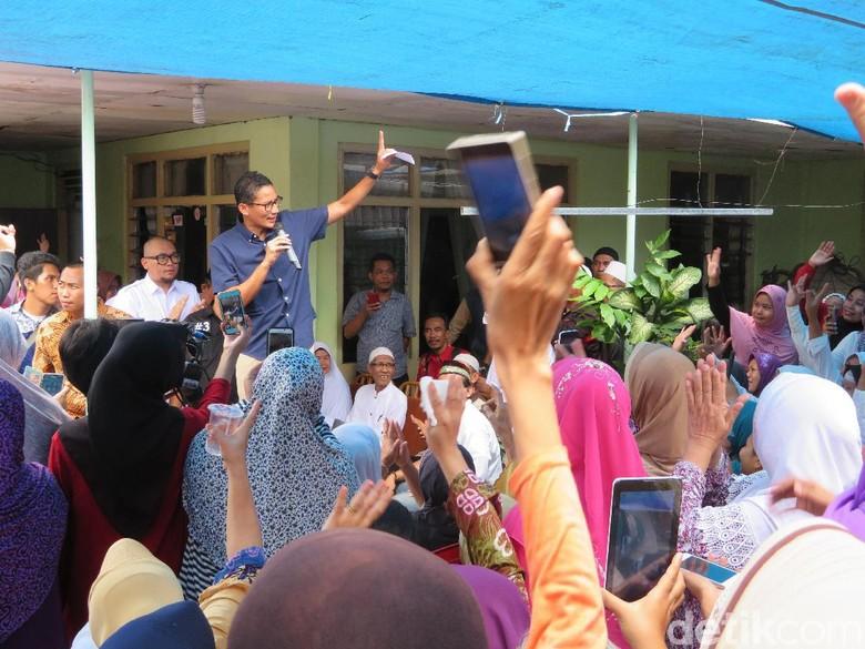 Didukung Titiek Soeharto, Sandiaga: Semua Bentuk Dukungan Amanah