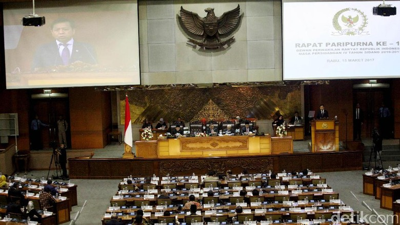 Pembahasan Revisi UU MD3 Diserahkan ke Baleg DPR