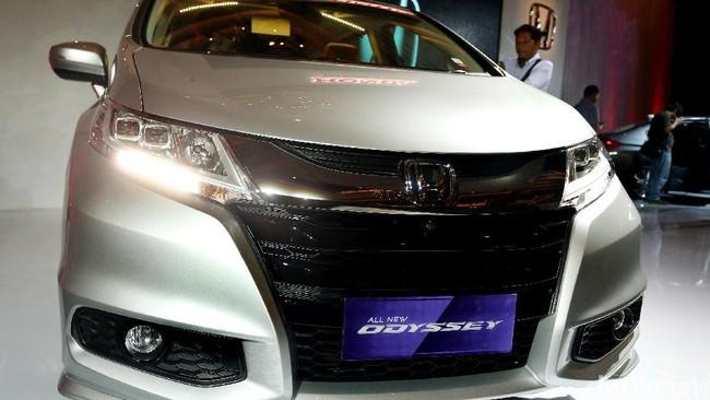 Sentuhan Mewah Honda Odyssey Terbaru