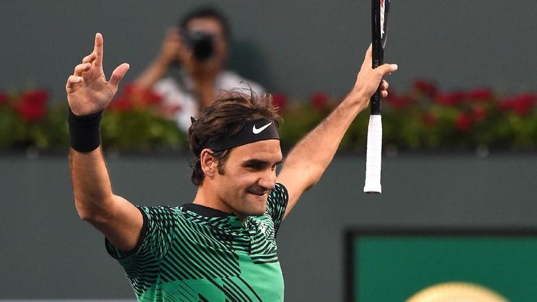 Federer ke Perempatfinal Usai Tundukkan Nadal, Wawrinka Lolos Susah Payah